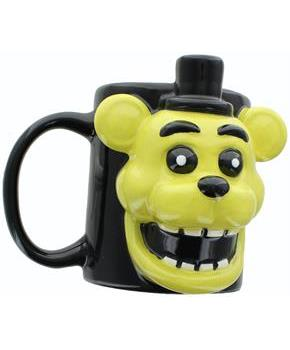 Five Nights at Freddy's Golden Freddy 16oz Molded Mug