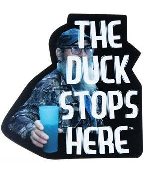 "Duck Dynasty ""The Duck Stops Here"" Magnet"