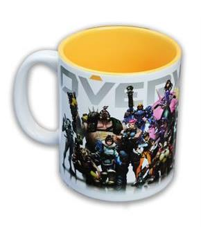 Overwatch Heroes/ Inside Color Coffee Mug
