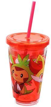 Pokemon Group 18oz Carnival Cup w/ Floating Confetti Pokeballs