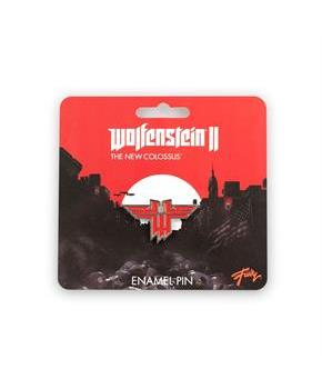 Wolfenstein: The New Colossus Logo Enamel Collector Pin