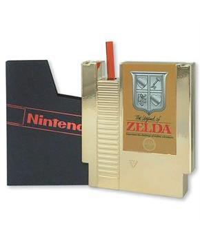 Legend of Zelda 8oz Gold Cartridge Canteen