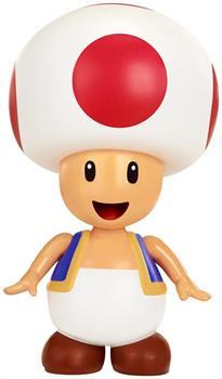 "World of Nintendo 4"" Figure: Red Toad"