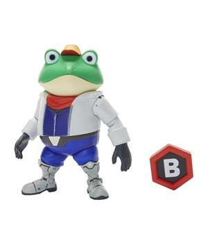 "World of Nintendo 4"" Figure: Slippy Toad"
