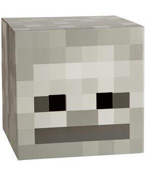 "Minecraft 12"" Skeleton Head Costume Mask"