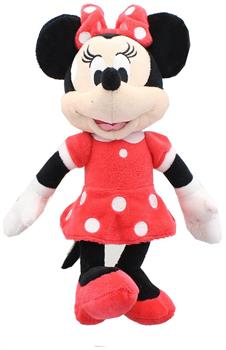 "Mickey Mouse Clubhouse 9"" Plush, Minnie (Red Dress)"