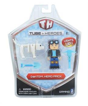 Tube Heroes DanTDM Minecart Action Figure Hero Pack