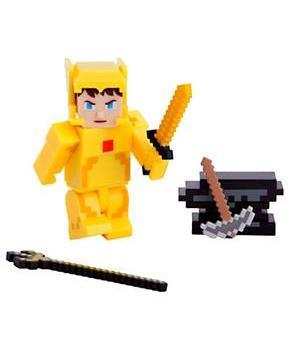 "Terraria Gold Armor Player 3"" Action Figure"