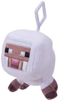 Minecraft 3 Inch Plush Clip On - Baby White Sheep