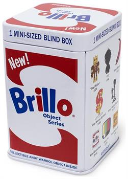 Andy Warhol Brillo Blind Packaging Box Mini Series