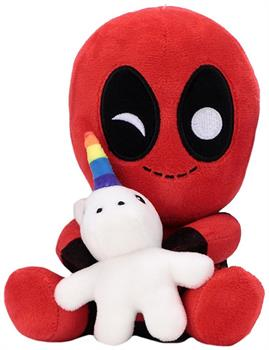 "Deadpool w/ Unicorn 7.5"" Phunny Plush"