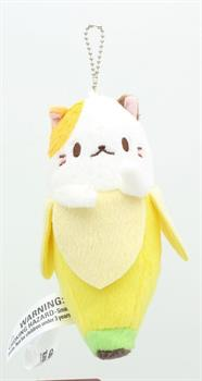 "Bananya 5"" Plush Keychain: Mike"