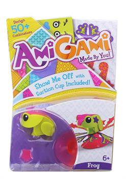 AmiGami DIY Mini Figure, Frog