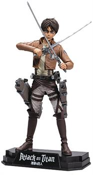 "Attack On Titan Eren Jaeger 7"" Collectible Action Figure"