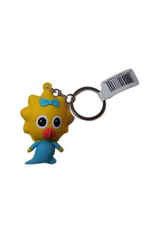 The Simpsons 3D PVC Foam Collectible Key Ring Blind Packaging