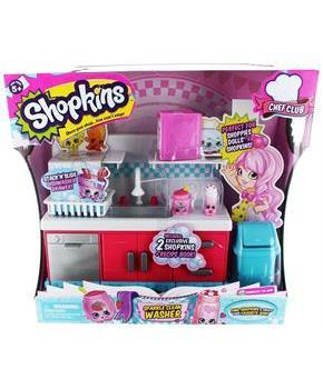 Shopkins Season 6 Chef Club Playset Sparkle Clean Washer