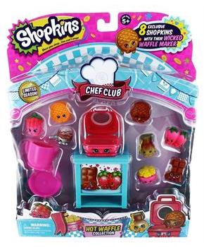 Shopkins Season 6 Chef Club Themed Set Waffle