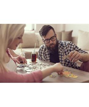 Marvel Avengers 48-Piece Puzzle in Zipper Pouch