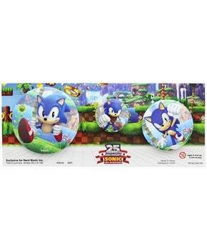 Sonic the Hedgehog 25th Anniversary Button 3 Pack