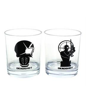 DC Comics Deadshot Whiskey Tumbler Set