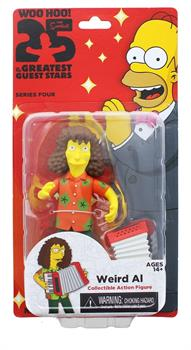 The Simpsons 25 Greatest Guest Stars Series 4 Figure, Weird Al Yankovic
