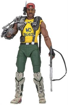 Aliens Series 13 NECA 7 Inch Scale Action Figure - Space Marine Sgt. Apone