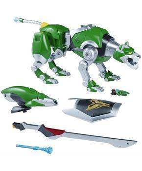 "Voltron Legendary Defender 9"" Legendary Figure: Green Lion"