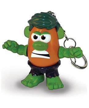 "Marvel 2"" PopTater Character Keychain: The Hulk"
