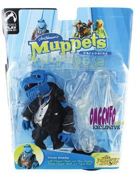 The Muppets Show Uncle Deadly Exclusive Figure Glow In The Dark Ghost Version