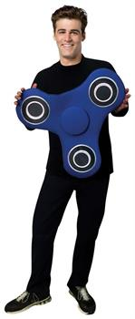 Blue Fidget Spinner Adult Pullover Costume Tunic - One Size