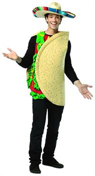 Taco Costume Lightweight Adult