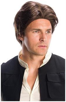Star Wars Han Solo Adult Costume Wig for Halloween