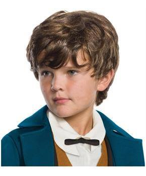 Fantastic Beasts Newt Scamander Child's Costume Wig for Halloween