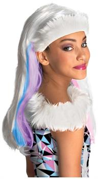 Monster High Abbey Bominable White Costume Wig Child