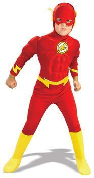 The Flash Deluxe Muscle Chest Toddler Costume - ToyHo.com
