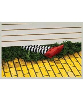 "The Wizard Of Oz 18"" Wicked Witch Of The East Legs Prop Decoration"