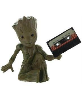 Guardians of the Galaxy Baby Groot w/ Mix Tape 3D Magnet