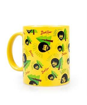 Bob Ross Happy Trees Mug