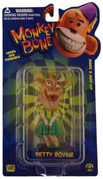 "Monkey Bone Little Big Head 4"" Mini Figure: Betty Bovine"