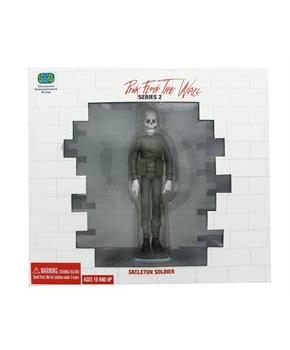 "Pink Floyd The Wall 6"" Figure Diorama: Skeleton Soldier w/ Wall"