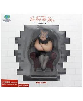 "Pink Floyd The Wall 6"" Figure Diorama: Mom & Pink w/ Wall"