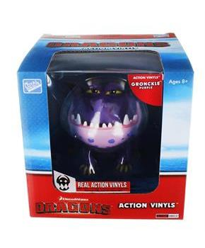 "How To Train Your Dragon 6""-7"" Action Vinyl: Gronckle (Purple)"