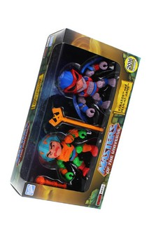 "Masters of the Universe 3.2"" Action Vinyl 2-Pack: Stratos + Man-At- Arms (Original Toy Color Variants)"