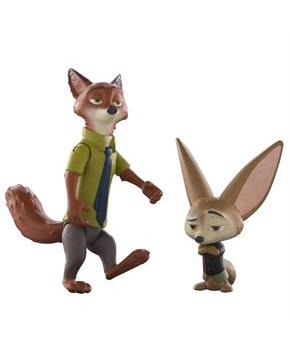 Disney Zootopia Character 2-Pack Nick and Finnick Figures