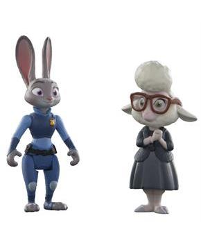 Disney Zootopia Character 2-Pack Judy Hopps and Bellwether Figures