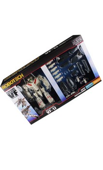 Robotech 1/100 VF-1J Super Veritech Action Figure: Rick Hunter