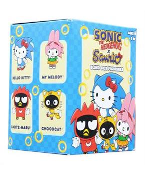 Sonic The Hedgehog Sanrio Blind Boxed Mini Figure