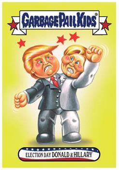 GPK: Disg-Race To The White House: Election Day Donald and Hillary #58