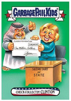 GPK: Disg-Race To The White House: Check Collectin' Clinton #59