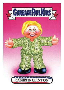GPK: Disg-Race To The White House: Cashin' In Clinton #61